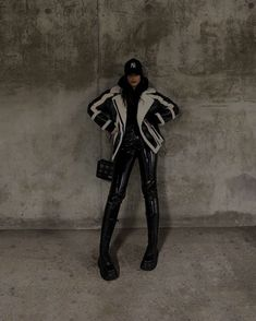 Edgy Outfits, Mode Outfits, Winter Outfits, Fashion Outfits, Womens Fashion, Looks Style, My Style, Looks Dark, Jackett