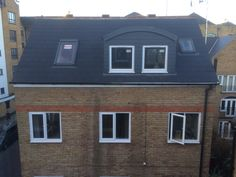 Completed roof and dormers