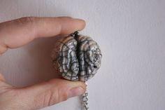 Materia Grigia-ciondolo girocollo