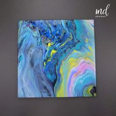 Enjoy these innovating and creative ways to create art through acrylic pouring – Malerei Acrylic Pouring Art, Acrylic Art, Acrylic Painting Canvas, Canvas Art, Marble Painting, Pour Painting, Action Painting, Painting Art, Art Projects