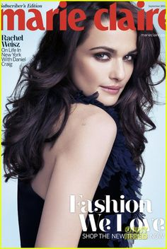 Someone once told me I reminded him of Rachel Weisz (or vice versa, I don't remember exactly). Best compliment ever? I think so. I don't see it, but I'll take it.