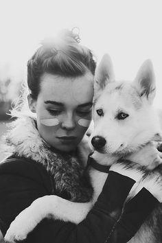 Debbie Scanlan and Loki by Alex Kruk Mans Best Friend, Girls Best Friend, Best Friends, Forest Falls, Dog Photos, Animals Photos, Animal Pictures, Wild Dogs, Cat People