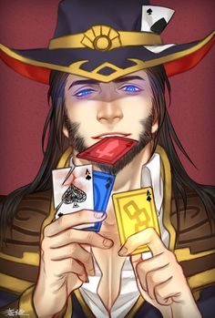 League of legends-Twisted Fate