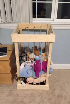 how to put up a toy hammock