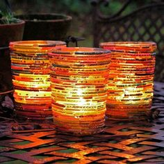 Bangles Tea-Light Holders