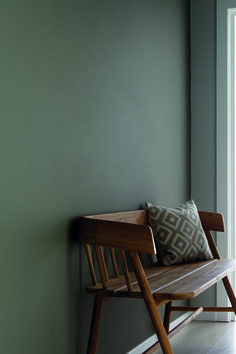 "Little Greene Gebruikte ""GREY"" kleuren: Grey Moss 234, Cool Arbour 232 & Wood Ash 229"