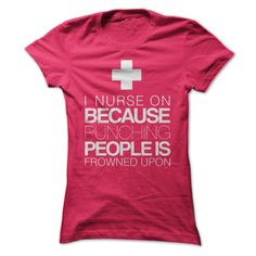 Nurse on  T SHIRT
