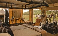Safari Tent style, the only way to go camping