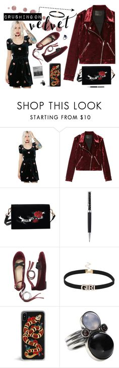 """""""Tainted Love"""" by alexis-marie-burroughs ❤ liked on Polyvore featuring Honey Punch, BLANKNYC, Swarovski, Meggie and Bottega Veneta"""