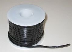 50 Foot 12/24 Volt Black Zip Hookup Wire. 18ga, 2 Conductor, Spool by CreativeLightings, llc. $28.95. 50 Foot 12/24 volt Black Hookup Wire. 18ga, 2 Conductor, Spool, Stranded wire. Perfect for LED Pod, LED Tubes or any other 12v or 24v application, including stereo power hookup wire.