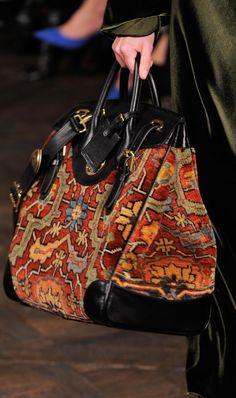 My Bags, Purses And Bags, Jimmy Choo, Carpet Bag, Ralph Lauren, Boho Bags, Handmade Handbags, Beautiful Bags, Fashion Bags
