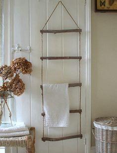 9 Genius Ways to Store Bath Towels via @PureWow