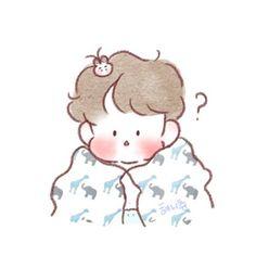 Cute Boy Drawing, Chanbaek Fanart, Chanyeol Baekhyun, Exo Fan Art, Drawing Poses, Cute Icons, All Art, Planner Stickers, Watercolor Art