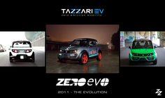 2011 - THE EVOLUTION #Tazzari #EV launches the technological evolution of #Zero: #EVO #electriccar #zeroemission #madeinItaly #nextgen #history #ZeroEVO