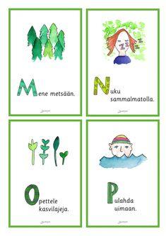 Luonto - Värinautit Finnish Language, Joko, Special Education, Finland, Map, Comics, Pictures, Photos, Location Map