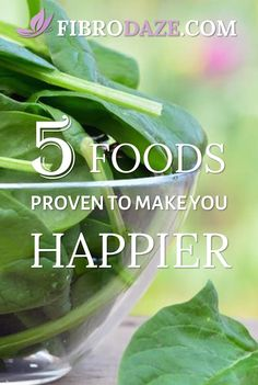 5 Foods Scientifically Proven To Make You Happier #mentalhealth Nutrition And Mental Health, Brain Health, Health And Wellness, Foods For Depression, Health Tonic, Stress Busters, Central Nervous System, Brain Food, Fibromyalgia