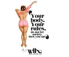 20 Rad Body Image Quotes To Inspire All The Feels - Body Positivity - Body Positivity, Body Positive Quotes, Positive Body Image, Curvy Motivation, Fitness Motivation, Daily Motivation, Motivation Quotes, Workout Hiit, Fun Workouts