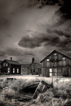 Ghost Town Haunting: The Legend of Bodie, California