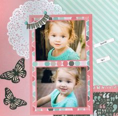 Sweet Audrey pg 1 - Scrapbook.com