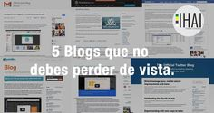 """5 Blogs oficiales q"