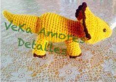 Patrón gratis amigurumi de dinosaurio de VEKA AMORES – amigurumis y más