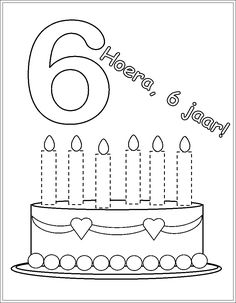 * Hoera, 6 jaar!