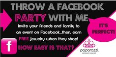 Top Tips for Paparazzi Facbook Parties!