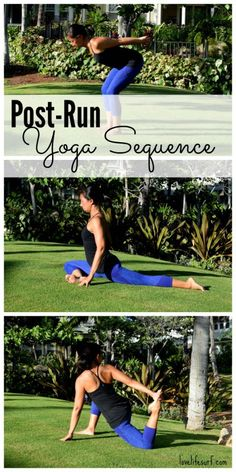 Training for a marathon or half marathon? Here's a post-run yoga sequence to help you cool-down and stretch out your tired muscles! This all-levels sequence will help improve your flexibility and range of motion and keep you injury-free!