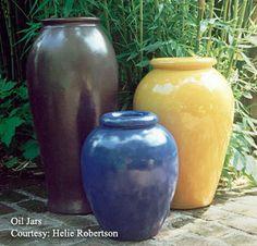 Gladden McBean oil jars