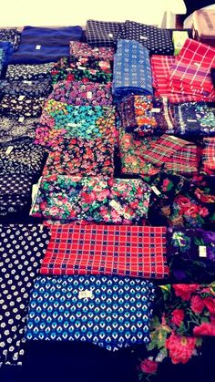 Happy fabrics, traditional clothes Staphorst #Overijssel #Staphorst
