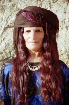Kurdish woman, Turkey. (source)