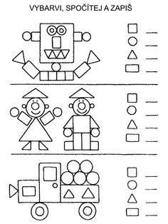 attribute block patterns for kindergarten Math Classroom, Kindergarten Worksheets, Teaching Math, Learning Activities, Preschool Activities, Kids Learning, Shape Activities, 1st Grade Math, Math For Kids