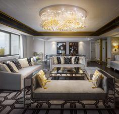 Royal Suite in London Inspired by The Style of Queen Elizabeth II | http://www.designrulz.com/design/2013/07/royal-suite-in-london-inspired-by-the-style-of-queen-elizabeth-ii/