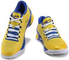 UA Stephen Curry One Low Royal Blue Yellow