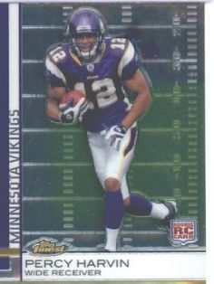 2009 Topps Finest Football Rookie Card #73 Percy Harvin Minnesota Vikings Shipped In Protective ScrewDown Display Case! by Topps. $9.95. 2009 Topps Finest Football Rookie Card #73 Percy Harvin Minnesota Vikings Shipped In Protective ScrewDown Display Case!