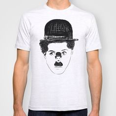 #charliechaplin #charlot #chaplin #art #illustration #graphic #drawing #designer #bw #blackwhite #tee