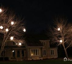 Best DIY Projects For Home Decorating: DIY Lighted Christmas Balls