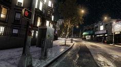 New York by GTA IV, Rockstar.