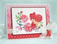 Everything's Rosy Digital Stamp Set
