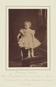 Princess Victoria of Hesse, 1865