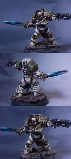 Death Guard Legion Praetor - by WarmasterPainting
