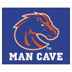 Boise State Man Cave Tailgater Rug 5x6