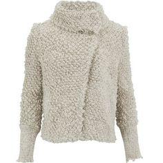 IRO Women's Caty Wool Mix Jacket - Ecru