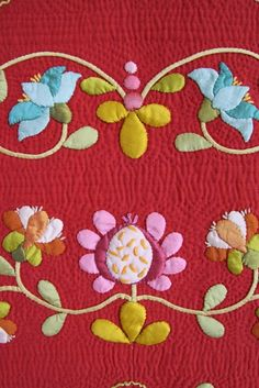I have bought Deborah's book and I am going to make this. I love it on red.