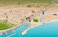 BARCELONA mi alma!: Mapas: Guía de Barcelona, TMB, FFGG