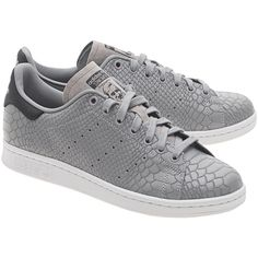 ADIDAS ORIGINALS Stan Smith Vintage Women Grey // Strctured sneakers (€149) ❤ liked on Polyvore featuring shoes, sneakers, grey sneakers, structure shoes, vintage footwear, vintage shoes and gray sneakers