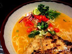 Chilli Chicken Ramen at Wagamama Recipes For Soups And Stews, Ramen Recipes, Asian Recipes, Cooking Recipes, Healthy Recipes, Ethnic Recipes, Chinese Recipes, Chinese Food, Chicken Ramen Recipe