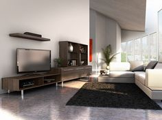 home entertainment unit createch design boutique tendance mobilier en bois meuble tele