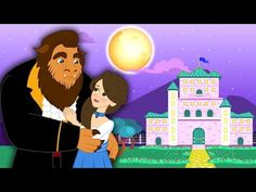 (1) Die Schöne und das Biest Märchen für Kinder | Gute Nacht Geschichten Animation HD auf Deutsch - YouTube