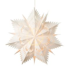 Paper Star Lantern in Holiday Features Winter Whites at Terrain
